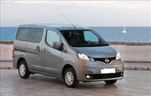 MINI van 7seater car rental Airport Thessaloniki
